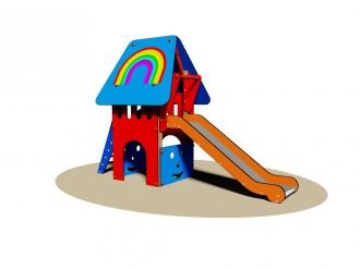 Tourelle de jeux en bois pour enfants - Devis sur Techni-Contact.com - 1