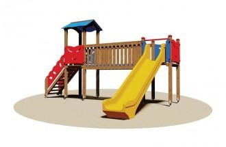 Tourelle en bois enfants - Devis sur Techni-Contact.com - 1