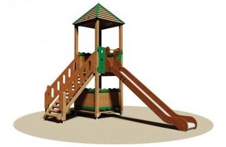 Tourelle extérieure pour enfants - Devis sur Techni-Contact.com - 1