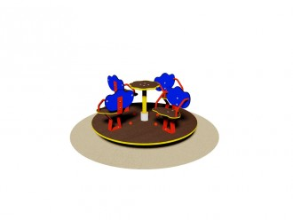 Tourniquet 4 sièges pour enfant - Devis sur Techni-Contact.com - 1