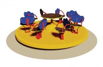 Tourniquet 8 sièges pour enfants - Devis sur Techni-Contact.com - 1