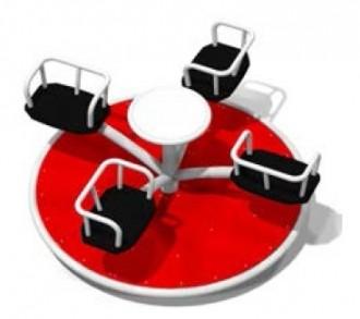 Tourniquet acier pour enfants 4 places - Devis sur Techni-Contact.com - 1