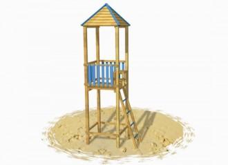 Tours de guet bois pour plages - Devis sur Techni-Contact.com - 1