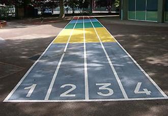 Traçage scolaire terrain sportif - Devis sur Techni-Contact.com - 1