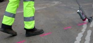 Traceur de chantier fluorescent - Devis sur Techni-Contact.com - 2
