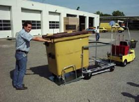 Tracteur électrique de bennes à déchets - Devis sur Techni-Contact.com - 1