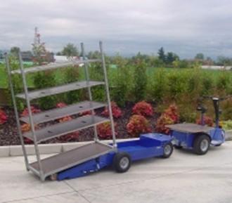 Tracteur électrique de manutention et de remorquage - Devis sur Techni-Contact.com - 4