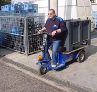 Tracteur électrique de manutention et de remorquage - Devis sur Techni-Contact.com - 5