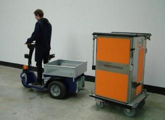 Tracteur électrique de manutention et de remorquage - Devis sur Techni-Contact.com - 6