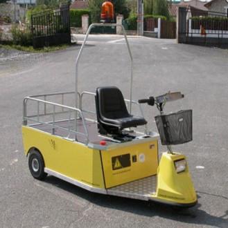 Tracteur électrique utilitaire - Devis sur Techni-Contact.com - 1