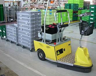 Tracteur électrique utilitaire - Devis sur Techni-Contact.com - 2