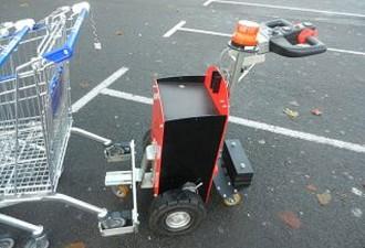 Tracteur pousseur caddies télécommandé - Devis sur Techni-Contact.com - 2