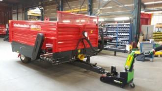 Tracteur pousseur électrique 2500 kg à batterie - Devis sur Techni-Contact.com - 8