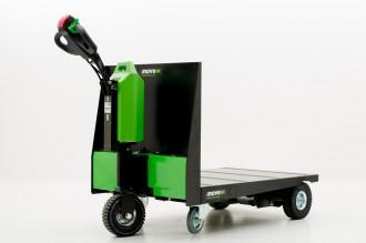 Tracteur pousseur électrique à plateforme - Devis sur Techni-Contact.com - 2