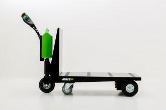 Tracteur pousseur électrique à plateforme - Devis sur Techni-Contact.com - 3