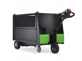 Tracteur pousseur électrique à plateforme - Devis sur Techni-Contact.com - 6