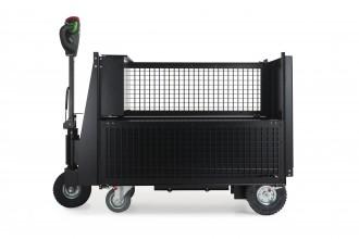 Tracteur pousseur électrique à plateforme - Devis sur Techni-Contact.com - 7