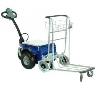 Tracteur pousseur pour caddies de supermarché - Devis sur Techni-Contact.com - 2