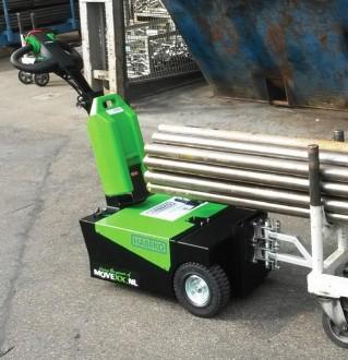 Tracteur pousseur rechargeable 1500 kg - Devis sur Techni-Contact.com - 4