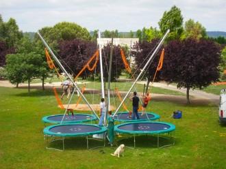 Trampoline pour parc d'attraction - Devis sur Techni-Contact.com - 2