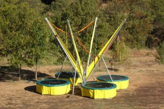 Trampoline pour parc d'attraction - Devis sur Techni-Contact.com - 3