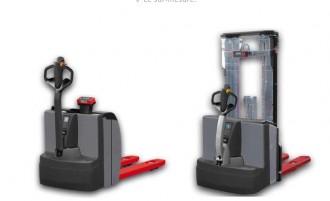 Transpalette électrique peseur industriel - Devis sur Techni-Contact.com - 1