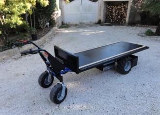 Transporteur de charge électrique à 4 roues Charge 600 Kg - Devis sur Techni-Contact.com - 3