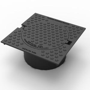 Tampon de chaussée carré C-400 - Devis sur Techni-Contact.com - 1