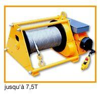 Treuil de levage à moteur électrique - Devis sur Techni-Contact.com - 1