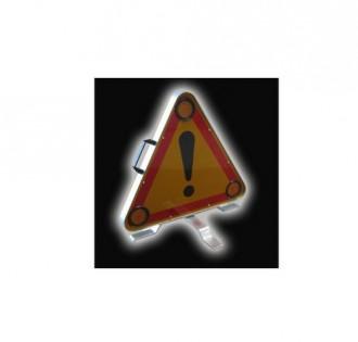 Triangle de signalisation lumineux - Devis sur Techni-Contact.com - 1