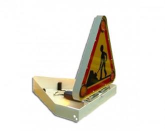 Triangle signalisation travaux à LED - Devis sur Techni-Contact.com - 2