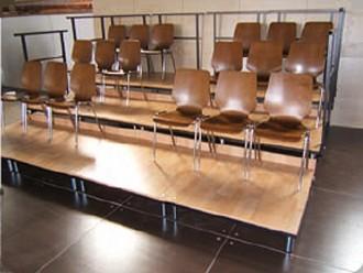 Tribune évènementiel mobile - Devis sur Techni-Contact.com - 1