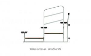 Tribune mobile - Devis sur Techni-Contact.com - 3