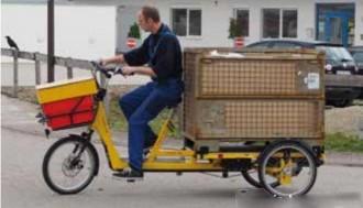 Tricycle aménageable 250 KG - Devis sur Techni-Contact.com - 1