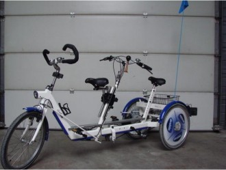 Tricycle duo - Devis sur Techni-Contact.com - 1