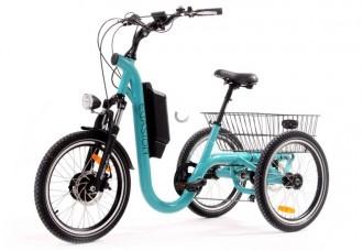Tricycle électrique à paniers - Devis sur Techni-Contact.com - 1