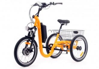 Tricycle électrique à paniers - Devis sur Techni-Contact.com - 2