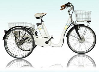 Tricycle électrique Aluminium - Devis sur Techni-Contact.com - 1