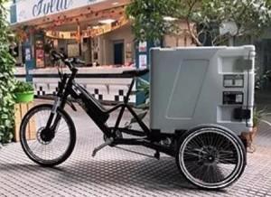 Triporteur électrique cargo box - Devis sur Techni-Contact.com - 1