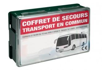 Trousse de secours transport en commun - Devis sur Techni-Contact.com - 1