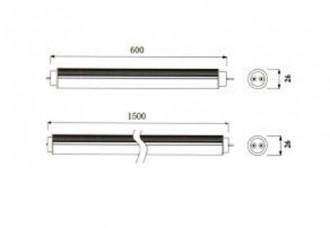 Tube néon LED pour entrepot - Devis sur Techni-Contact.com - 3