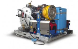 Unité d'aspiration et lavage haute pression et radiocommande - Devis sur Techni-Contact.com - 1