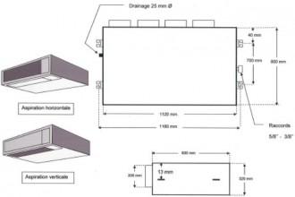 Unité intérieur gainable - Devis sur Techni-Contact.com - 2