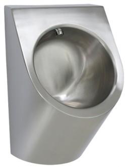 Urinoir individuel inox avec rinçage automatique invisible - Devis sur Techni-Contact.com - 1