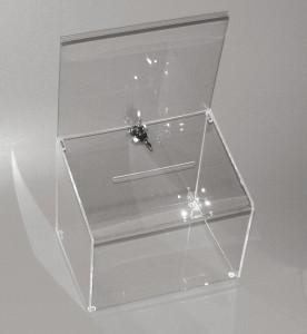 Urne avec fermeture clé avec ou sans affichage - Devis sur Techni-Contact.com - 2