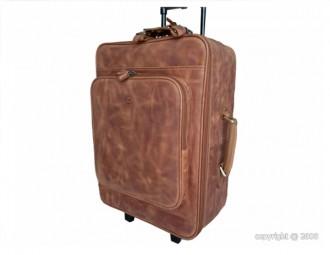 Valise en cuir Arizona avec trolley - Devis sur Techni-Contact.com - 1
