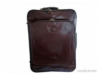 Valise en cuir de vachette avec trolley - Devis sur Techni-Contact.com - 1