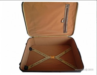 Valise en cuir de vachette avec trolley - Devis sur Techni-Contact.com - 3