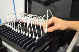 Valise pour classe mobile 16 PC et tablettes  - Devis sur Techni-Contact.com - 2