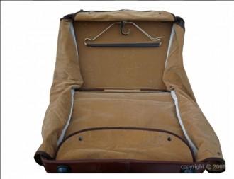 Valise porte-habit en cuir avec trolley - Devis sur Techni-Contact.com - 3